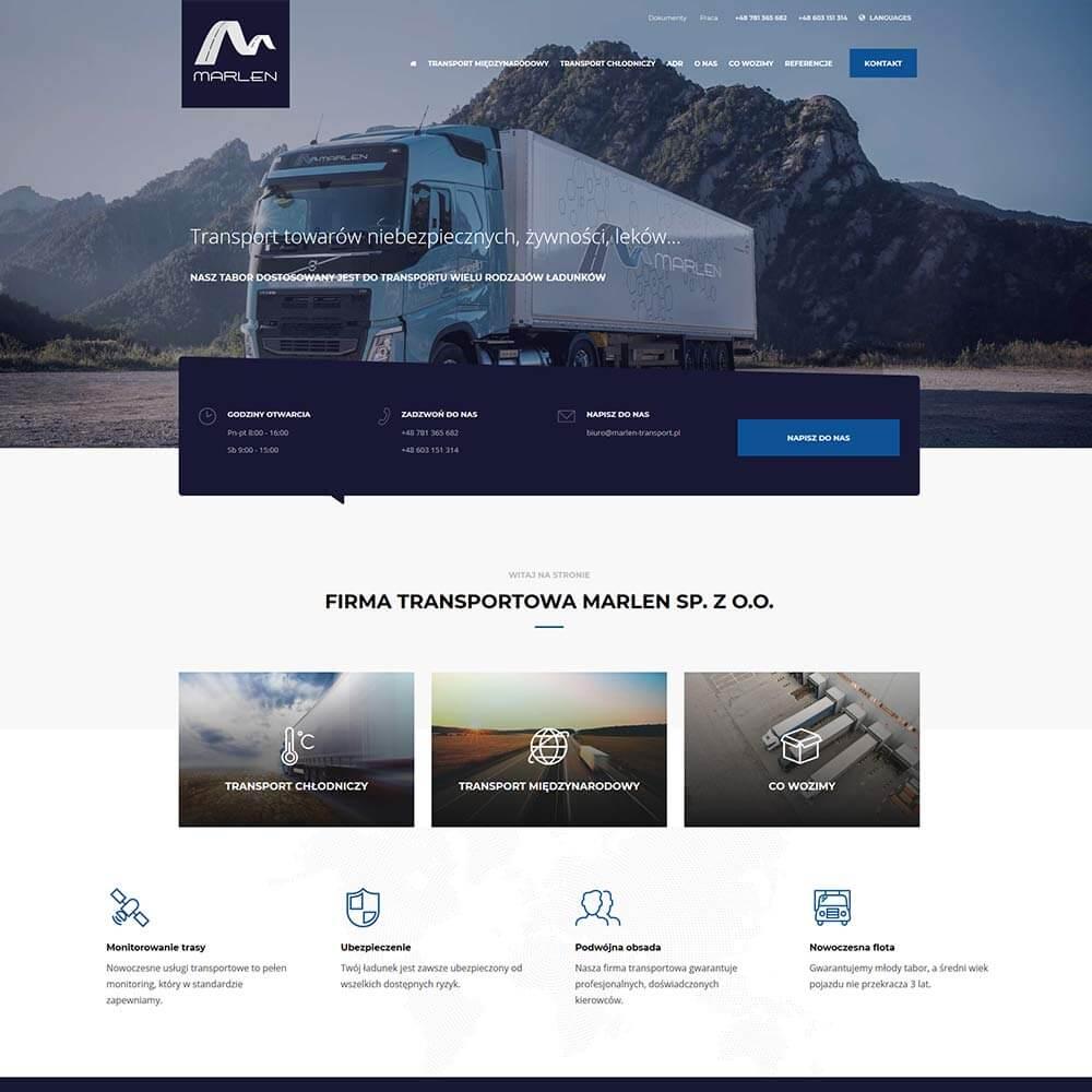 Strona internetowa używana do podłączenia